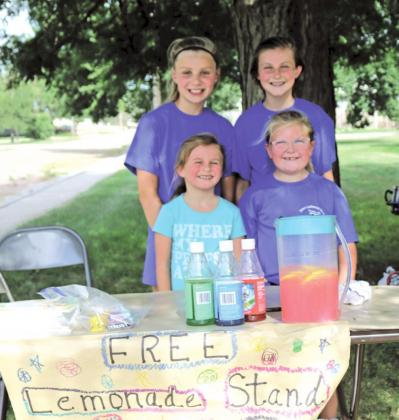Hot day for a Lemonade Stand