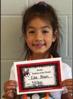 Lyman Elementary Students of the Week